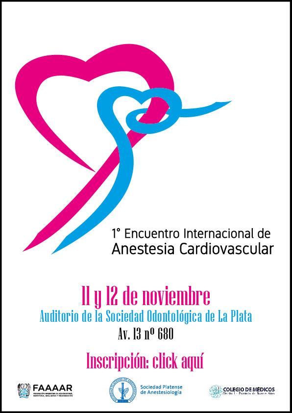 1° Encuentro Internacional de Anestesia Cardiovascular