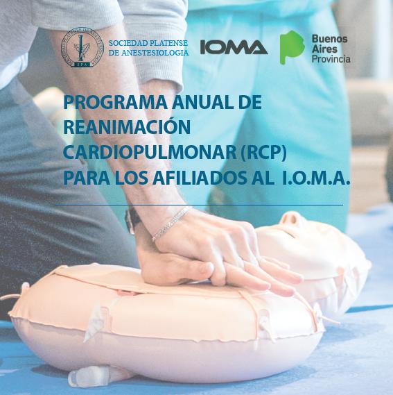 Finalizó el programa de capacitación en RCP para afiliados del IOMA del 2018