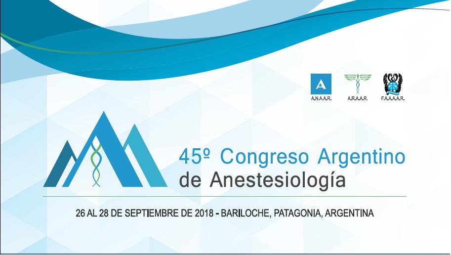 El CESSPA participó del 45° Congreso Argentino de Anestesiología