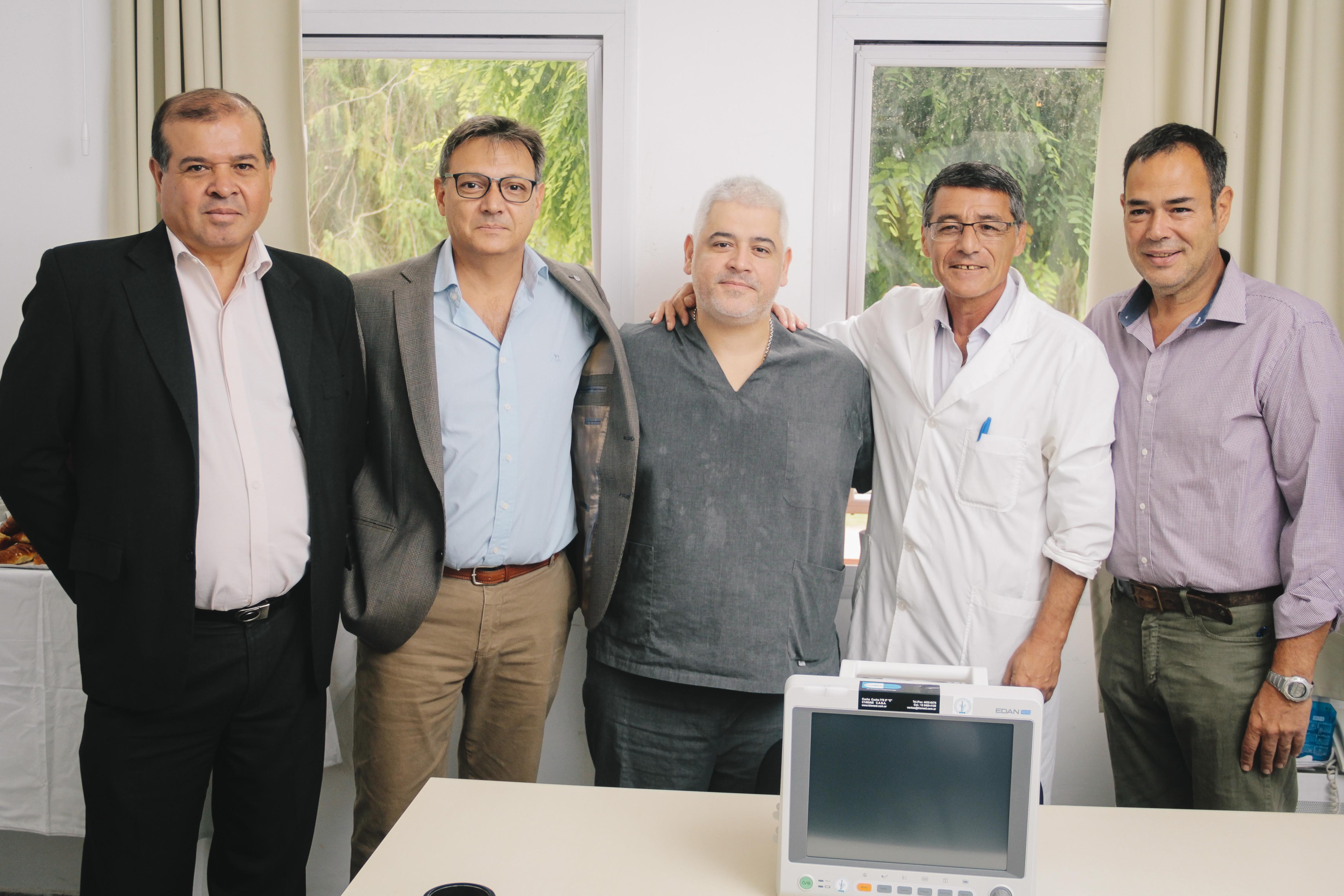 La SPA donó un monitor multiparámetrico al Hospital Municipal Francisco Caram