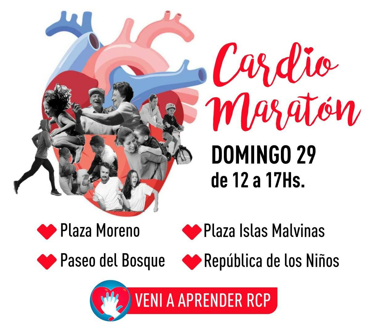 ¡Cardiomaratón en RCP!
