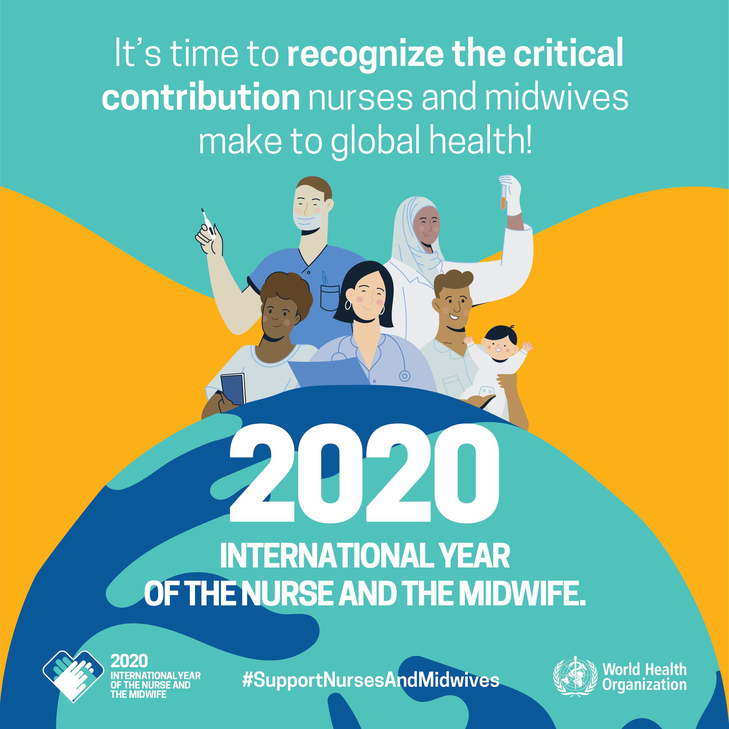 Campaña de la OMS: Año Internacional de la enfermera y la partera