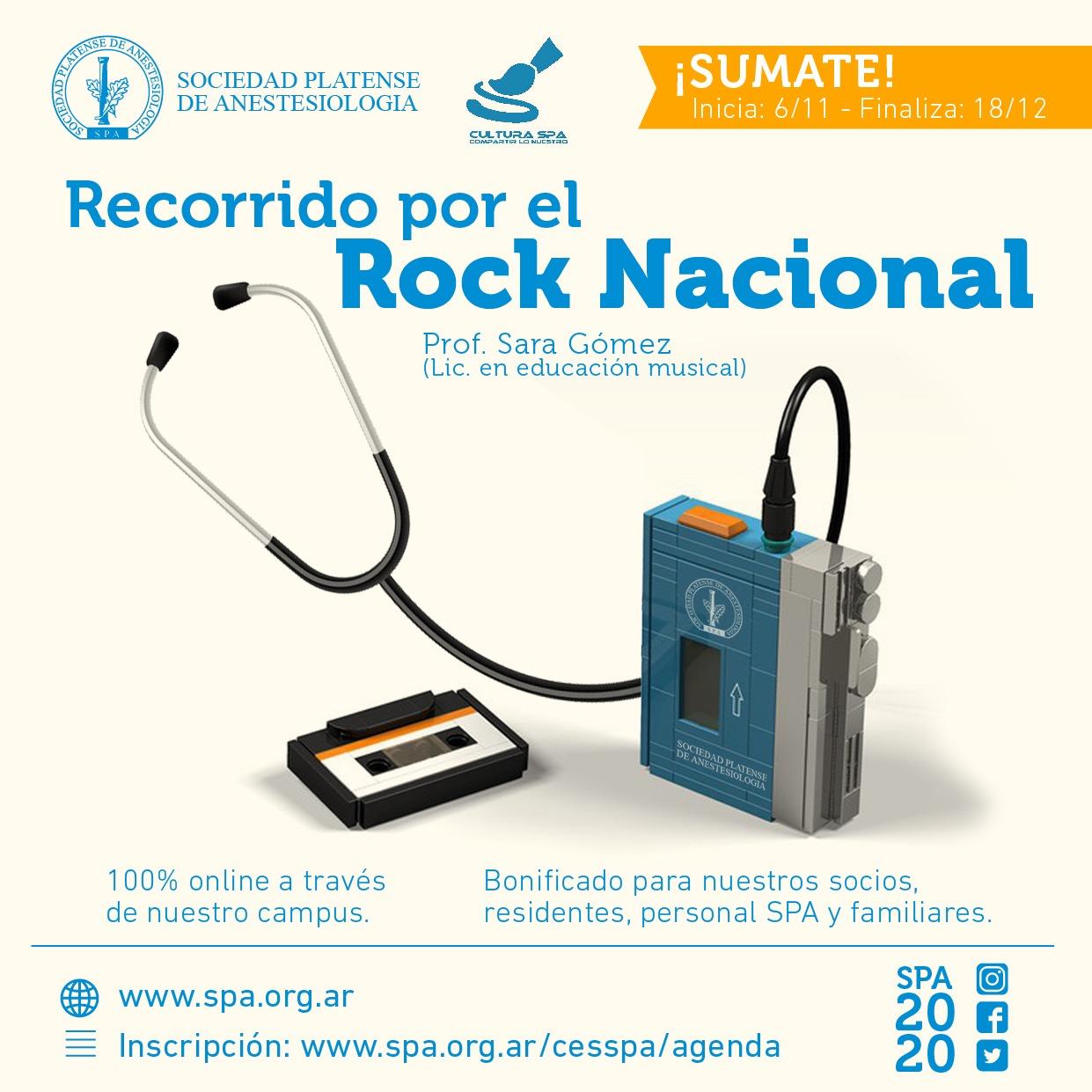 «Recorrido por el Rock Nacional»