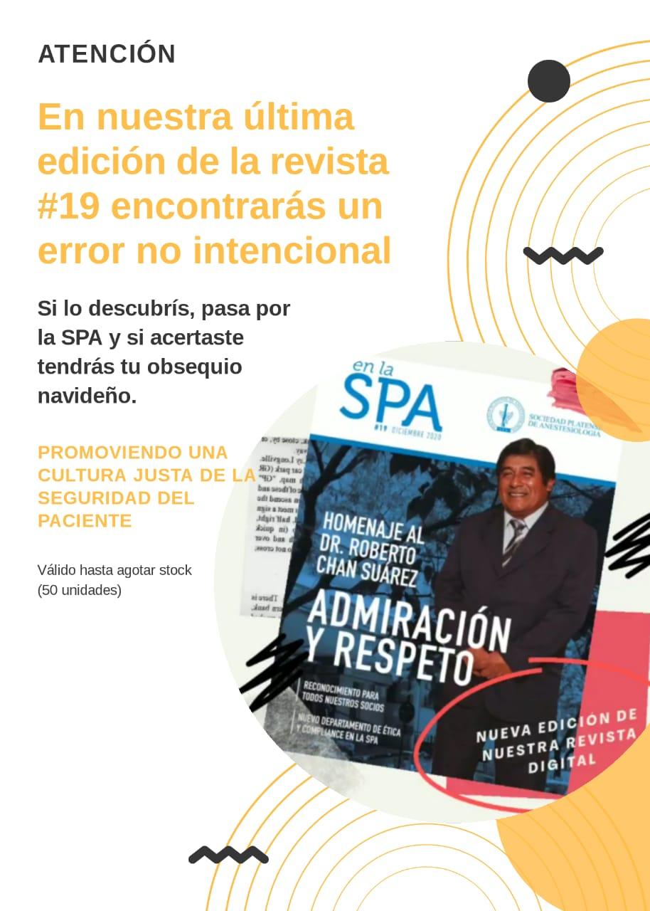 Revista «En la SPA – Edición #19»