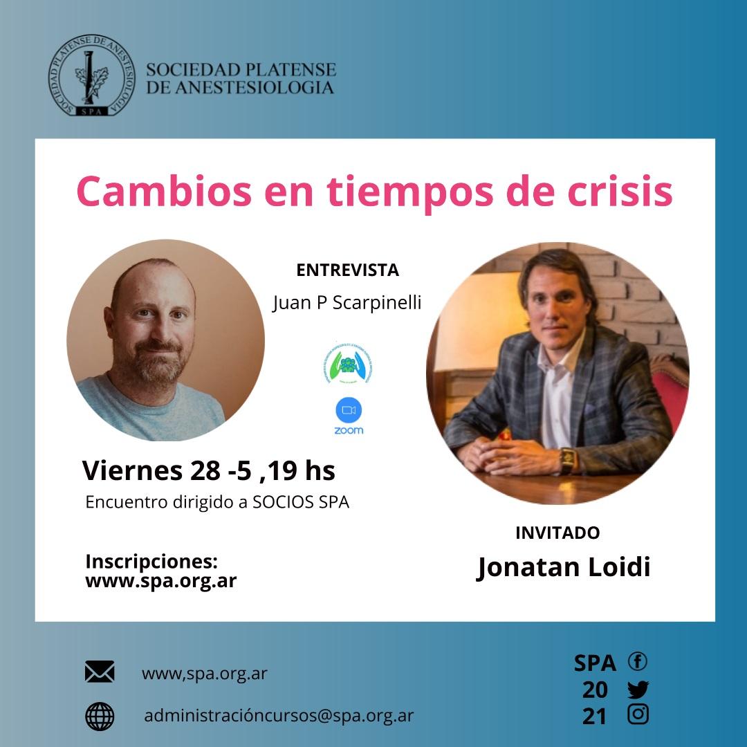 Conversatorio del DBO: «Cambios en tiempos de crisis»